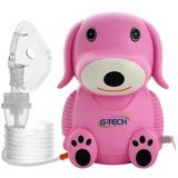 Inalador Nebulizador Nebdog Infantil Azul Rosa Para Bebes