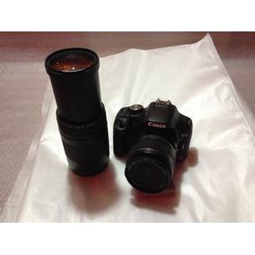 Camera Canon Eos Rebel T1i C/ 18-55 E 75/300