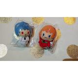 Sanrio Peluche Mini Evangelion Asuka Langley Y Rei Ayanami
