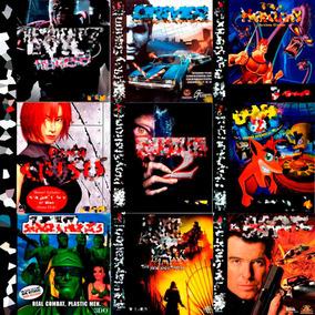 Jogos Patchs Ps1 Para Ps1 Cd Encartes E Impressão No Disco