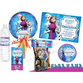 Frozen Kit Imprimible Personalizado