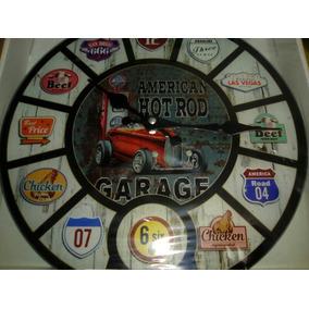 Reloj De Pared Para Ambientaciones Con Temas Vintage