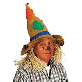 Disfraz Espantapájaros Sombrero Adulto