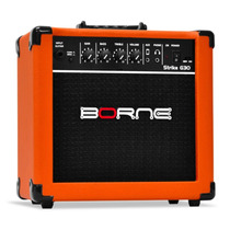 Amplificador Cubo Guitarra Borne G30 Laranja Frete Gratis