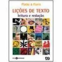 Lições De Texto: Leitura E Redação Platão & Fiorin