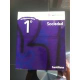 Libro De Sociedad,1 Medio,bicentenario Editorial Santillana