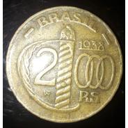 Moeda 2000 Reis 1938 Caxias