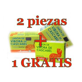 2 + 1 Gratis Jabones Vivora De Cascabel Anti Acne