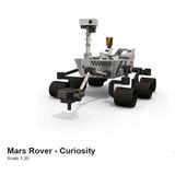 Mars Rover Curiosity (para Armar En Papel)