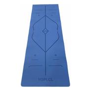 Mat De Yoga Eco   Yopi - Azul