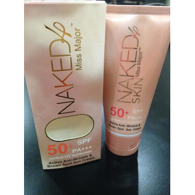 Protector Solar 50+ Spf Pa+++ Naked 4