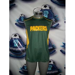 4c76fb2b68321 Playera Musculosa Gym Original Nike Nfl Green Bay Packers
