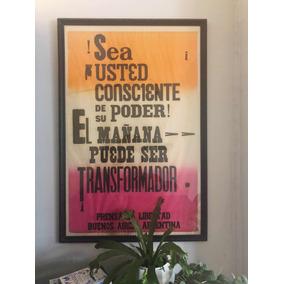 Cuadro Poster Enmarcado Diseño Moderno