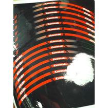 Aros Calcos Llanta Kawazaki Er 6 N Fabricantes Reflectivos