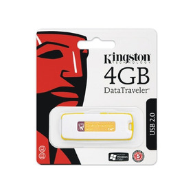 Pen Drive 4 Gb Kingston Na Blister Novo Original