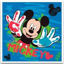 Toalla De Mano Jardin Mickey Mouse Licencia Oficial Disney
