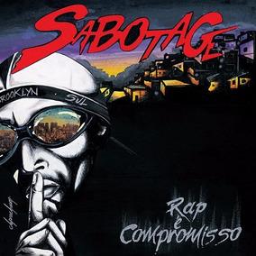 Lp Sabotage - Rap É Compromisso (lacrado) Vinil Duplo