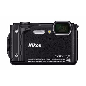 Câmera Digital Nikon Coolpix W300 16mp 4k Wifi Brinde 32 Gb