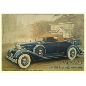 Quadro - Osm - Packard Coupe Roadster1934 - 110 X 160