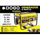 Generador Nafta Dogo Dog52001 Aloise Virtual