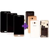 Tela Touch Display Lcd + Carcaça Samsung Galaxy J3 Original