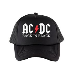 Gorra Rockera Acdc Trucker