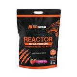 Reactor Mega Protein 2kg - Creme De Morango