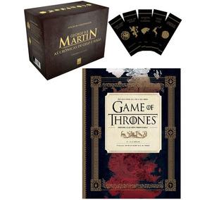 Box As Crônicas De Gelo E Fogo + Guia Hbo Game Of Thrones