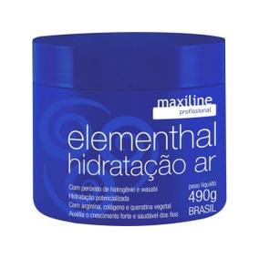 Maxiline Máscara Hidratação Elementhal Ar Profissional 500g
