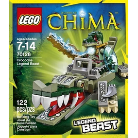 24c90fde1de3b Ataque De Submarino Do Caveira De Ferro - Lego 76048. 1 vendido · Lego  70126 Chima - Crocodile Legend Beast