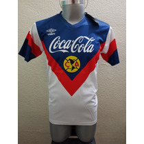 Jersey Playera Club America Retro Umbro Ochentas 80s Aguilas