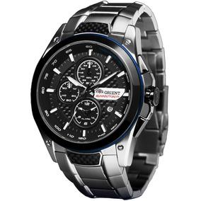 Relógio Orient Masculino Cronograph Mbssc112 P1sx Gar. E Nf