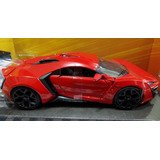 Rapido Y Furioso 7 Dominic Toretto Lykan Hypersport Esc1/24