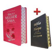 Bíblia De Estudo Da Mulher Sábia + Bíblia Letra Gigante