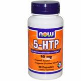 5-htp Now Foods 50mg 90 Comp Vegetais Com Amino Ácidos