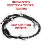 Instalacion Electrica Yamaha New Crypton Original Fas Motos