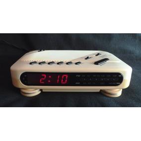 Radio-reloj Vintage Cougar (1989) - Funcionando!