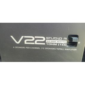 Amplificador Potencia Studio R V22