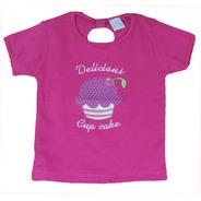 Camiseta Infantil Cupcake
