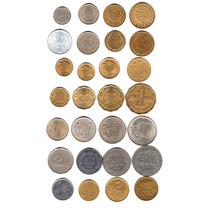 Uruguay Excelente Lote De 28 Monedas Todas Diferentes!!
