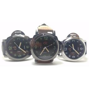 Kit 07 Relógio Luxo Bonit Ck Em Couro Social Atacado Revenda