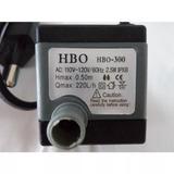 Bomba Submersa Hbo 300 220 Lh+ 50 Cm Mangueira Fonte Motor