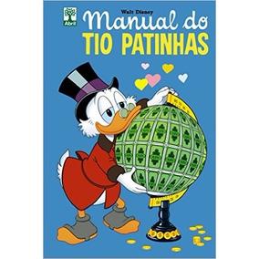 Manual Do Tio Patinhas Com Moeda Pataca Número 1 Capa Dura