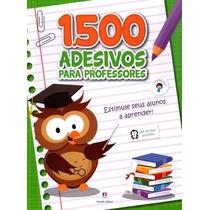 Livro 1500 Adesivos Para Professores