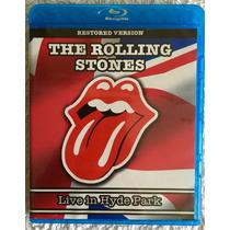 Blu Ray Concierto Vivo The Rolling Stones Live In Hyde Park