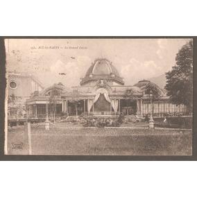 Cartão Postal França. O Grande Circo, Circulado, 1918.