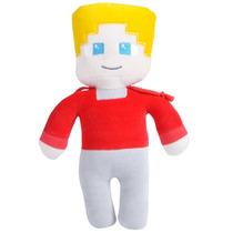 Boneco Minecraft Febatista - Licenciado