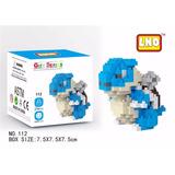 Blastoise Pokemon Figura Armable Mini Block Diamond Blocks