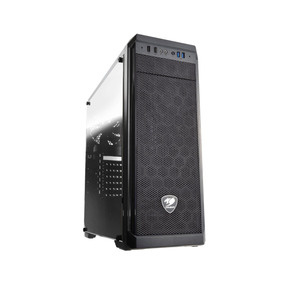 Gabinete Cougar Gaming Mx330 Mid Tower Black Windowed