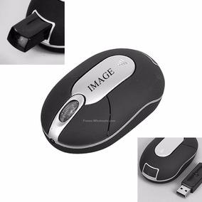 Mouse Sem Fio Preto Mini Wireless Optical